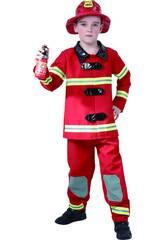 Disfraz Bombero Niño Talla XL