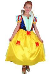 Disfraz Princesas de las Nieves Niña Talla XL