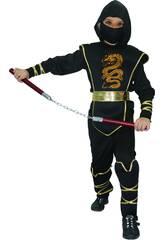Disfraz Ninja Niño Talla L