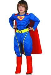 Déguisement Super-Héros Musclé Garçon Taille L