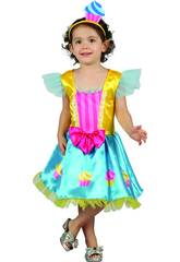 Disfraz Cupcake Bebé Talla M