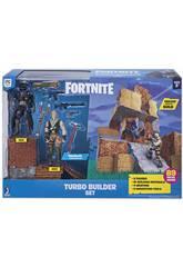 Fortnite Set Turbo Builder con 2 Figuras, Materiales, Armas y Picos