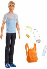 Ken On va en voyage Mattel FWV15