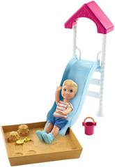 Barbie Skipper Babysitte set con Accessori Mattel FXG94