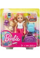Barbie Chelsea Vamos De Viagem Mattel FWV20