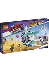 Lego Movie 2 : Vaisseau Systar de Sweet Mayhem 70830