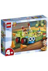 Lego Juniors Toy Story 4 Woody & Turbo 10766