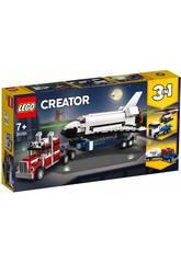 Lego Creator 3-in-1 Trasportatore di shuttle 31091