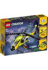Lego Creator 3 en 1 Aventure en Helicoptère 31092