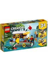 Lego Creator 3 en 1 Péniche au bord du fleuve 31093