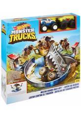 Hot Wheels Monster Truck Lucha Contra El Tiburón Mattel FYK14