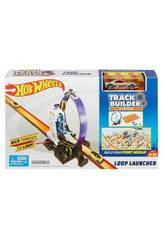 Hot Wheels Track Builder Looping Con Lanzador Mattel DMH51