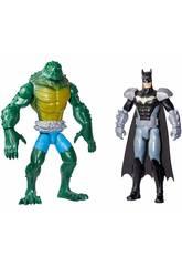 Batman e Killer Croc Playset con Due Personaggi Mattel GCK70