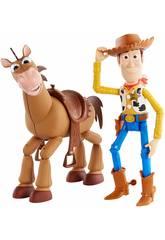 Toy Story 4 Disney Pixar Woody e Bull Seye Mattel GBD91