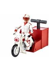Toy Story 4 Figura Duke Caboom Acrobacias y Carreras Mattel GFB55