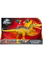 Jurassic World Dinosaurio Super Ataque Doble Mattel GDL05