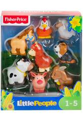 Fisher Price Little People Pack Figuras Animales Granja Mattel GFL21