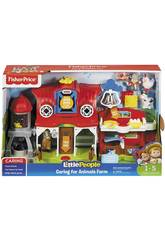 Fisher Price Little People Ferme Prenez Soin des Petits Animaux Mattel FKD00