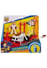 Imaginext Toy Story 4 Duke Caboom Super Cascades Mattel GBG71