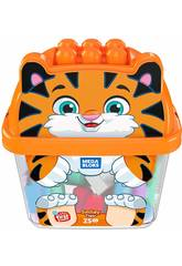 Megabloks Tigreblok 25 Pièces Mattel GCT48