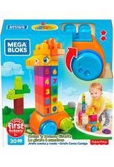 Megabloks Girafe 123 Mattel GFG19