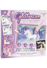 Glitterizz Set Einhorn Phosphoreszierend Toy Partner 23014