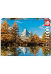 Puzzle 1.000 Monte Cervino In Herbst Educa 17973