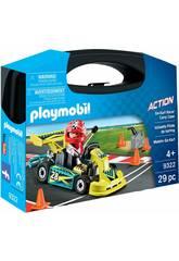 Playmobil Mallette Go Kart 9322