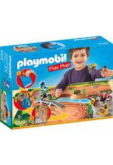Playmobil Play Map Motocross 9329