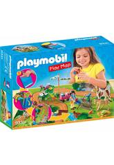 Playmobil Play Map Promenade avec Poney 9331