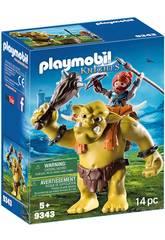Playmobil Riesentroll mit Zwergenrucksack 9343