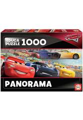 Puzzle 1.000 Cars Panorama Educa 17997