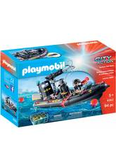 Playmobil Bateau des Forces Spéciales 9362