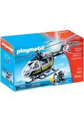 Playmobil Helicóptero das Forças Especiais 9363