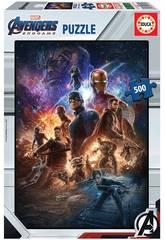 Puzzle 500 Avengers(Vingadores) Endgame Educa 17989