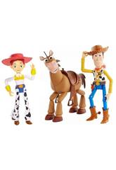 Toy Story 4 Pack de 3 Figuras Mattel GKF63