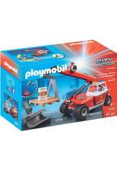 Playmobil Bomberos Vehículo Elevador 9465