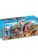 Playmobil Mallette Ville de l'Ouest 70012