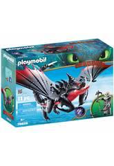 Playmobil Cómo Entrenar a Tu Dragón Aguijón Venenoso y Crimmel 70039