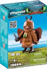 Playmobil Cómo Entrenar a Tu Dragón Pata Pez con Traje Volador 70044