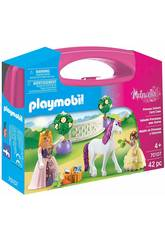 Playmobil Mallette de Princesses et Licorne 70107