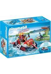Playmobil Aéroglisseur avec Moteur Submersible 9435