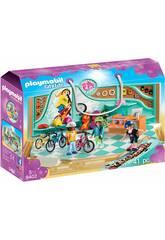 Playmobil Tienda de Bicicletas y Skate 9402