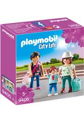 Playmobil Femmes avec Enfant 9405