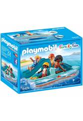 Playmobil Barco A Remos 9424