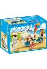 Playmobil Fahrrad mit Eiswagen 9426