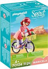 Playmobil Spirit Riding Free Maricela con bicicletta 70124