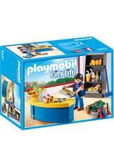 Playmobil City Life Custode con chiosco 9457