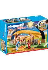 Playmobil Belen con Luz 9494