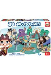 3D Aventures Pirates Educa 18227
